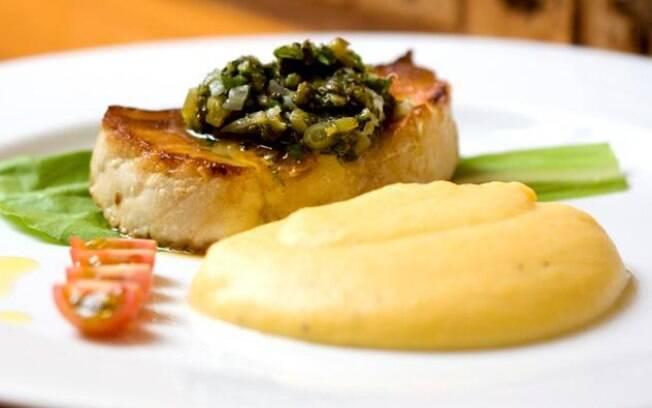 Foto da receita Purê de banana-da-terra pronta.