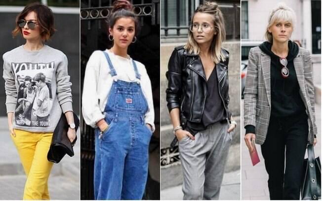 Não é preciso deixar o estilo de lado na hora de apostar em peças de roupa casuais, como por exemplo, o moletom