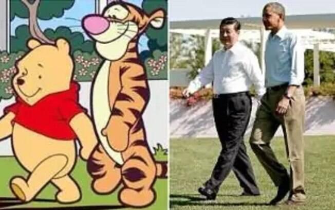 Devido a memes, a partir de agora, qualquer referências ao Ursinho Pooh passou a ser bloqueada
