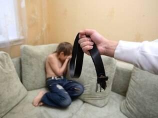 Mais de 70 por cento dos entrevistados apanharam quando crianças