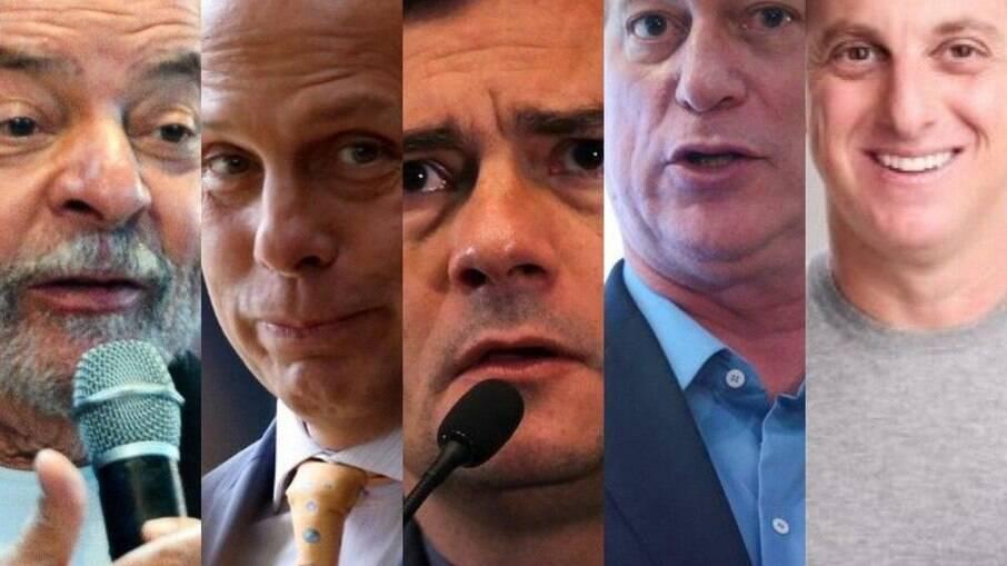 Pesquisa 2022: Lula tem a menor rejeição; Doria e Moro, as maiores. Segundo turno seria composto por Bolsonaro e Lula