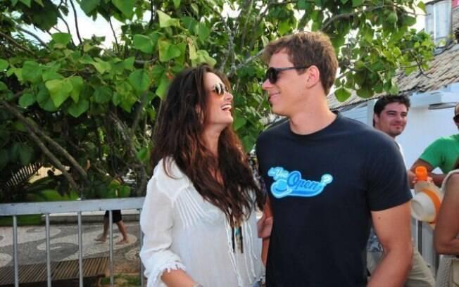 Priscila Machado e Cesar Cielo: novo casal