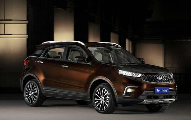 O SUV Territory esteve no Salão do Automóvel, em novembro último. Mas sua chegada ao Brasil ainda está em dúvida