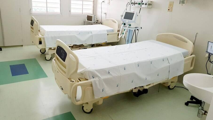 Unicamp instalou novos leitos de enfermaria para Covid-19.