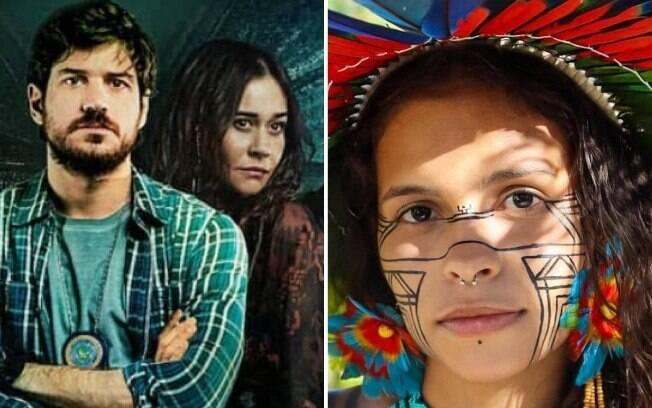 Alice Pataxó fala sobre 'Cidade Invisível' no Twitter