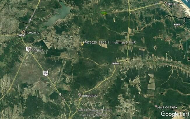 Tremor foi sentido em cidades do interior do Ceará