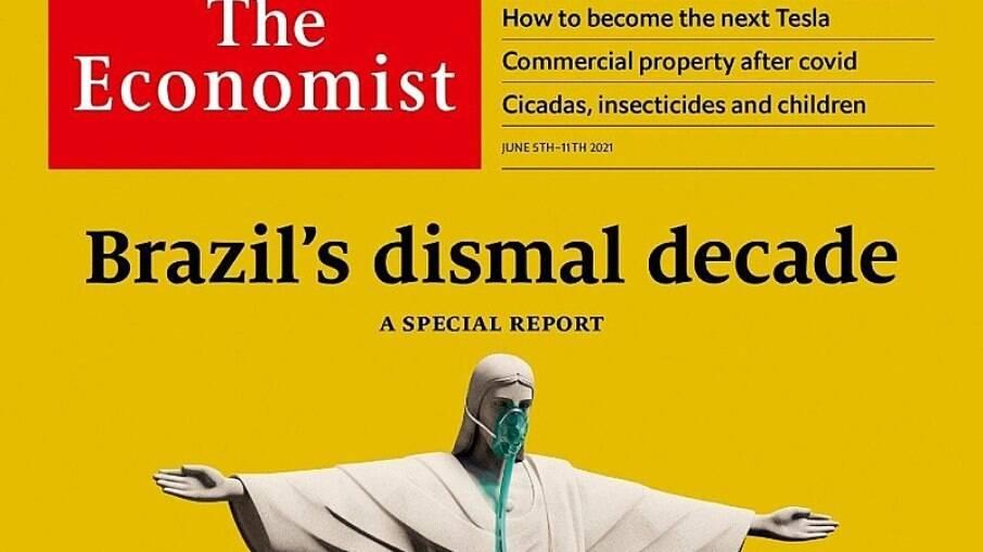 Edição da revista que sugeriu a derrota eleitoral de Jair Bolsonaro