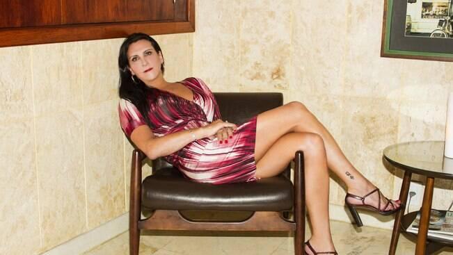 """Marcia Rocha, travesti com orgulho: """"Sou um partidão"""""""