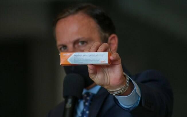 Vacina testada em Campinas é segura, diz governo estadual