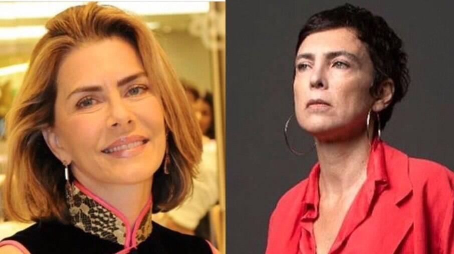 Maitê Proença está namorando Adriana Calcanhoto