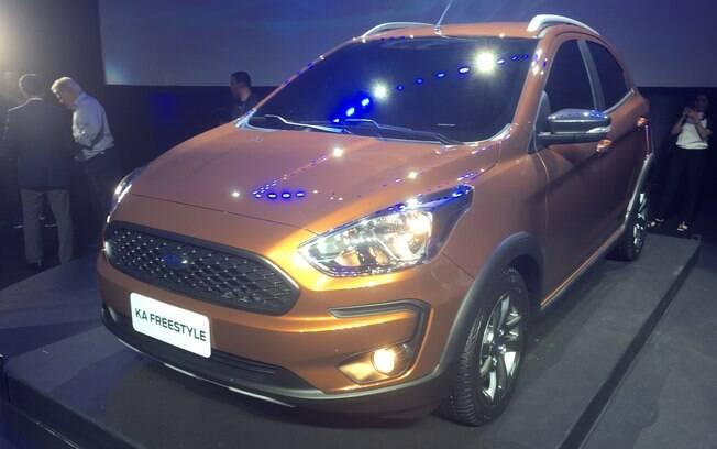 Ford Ka Freestyle:  versão aventureira do compacto vem para atender a crescente demanda do mercado pelos SUVs