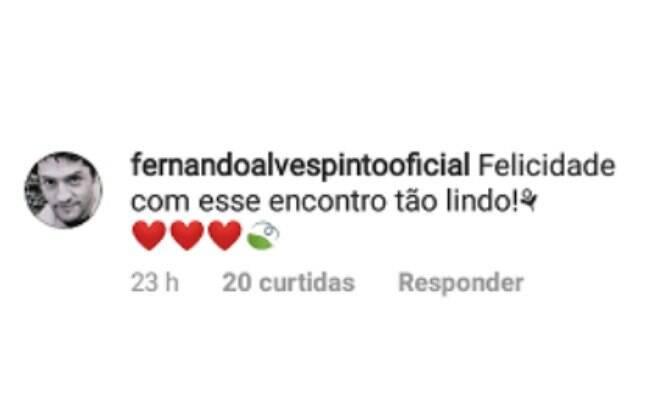 Comentário de Fernando Alves Pinto
