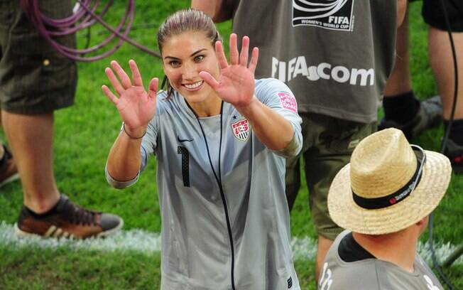 Ela ficou no caminho do Brasil e ajudou os  EUA e eliminarem a seleção da Copa