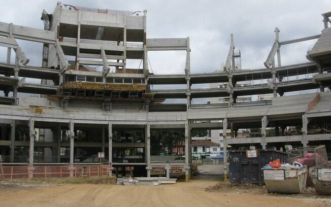 Construções seguem em ritmo acelerado. Este  setor tem em suas costas a famosa rua Turiassu