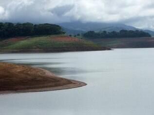 Vista da Represa Jaguari-Jacareí, em Bragança Paulista (SP), parte do Sistema Cantareira