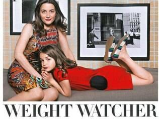 Dara-Lynn Weiss e a filha, Bea: artigo polêmico na Vogue americana