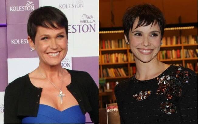 Separadas no nascimento: Achou parecido o novo visual de Xuxa e Nina, personagem de Débora Falabella?