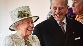 Você pode prestar condolências à rainha pela morte de Philip