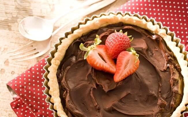 Foto da receita Torta de chocolate pronta.