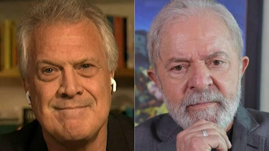 Pedro Bial convidou Lula para entrevista