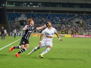 Corinthians perde para o Bragantino