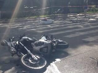 Motociclista morre depois de ser atingido por carro no Gutierrez