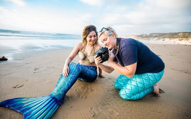 O Airbnb permite que você seja sereia por um dia