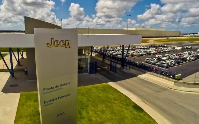 Fábrica da FCA em Goiana (PE), onde são montados os SUVs Renegade e Compass, que é líder do segmento no Brasil