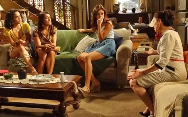 Griselda faz novos planos e admite vontade de morar ao lado de Tereza Cristina