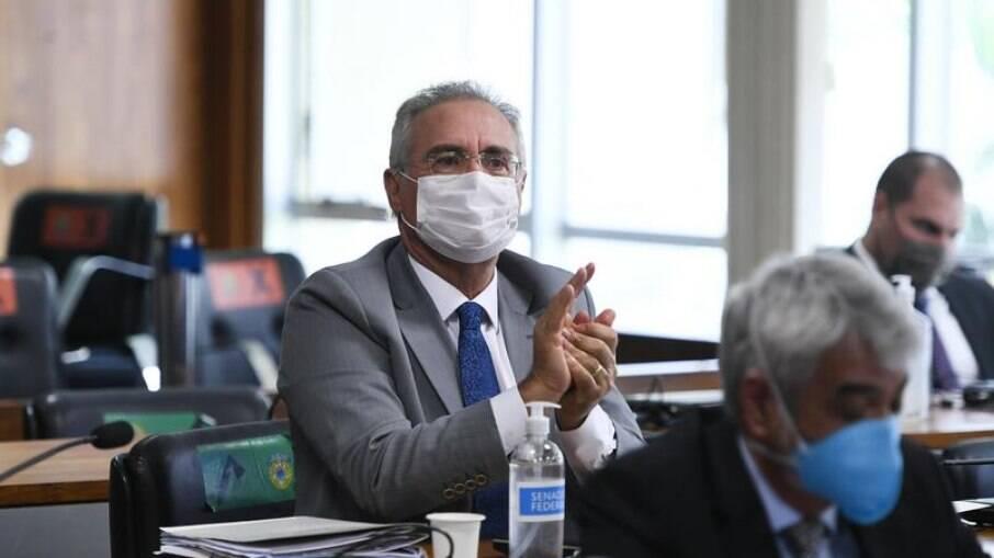 Renan Calheiros, relator da CPI da Covid