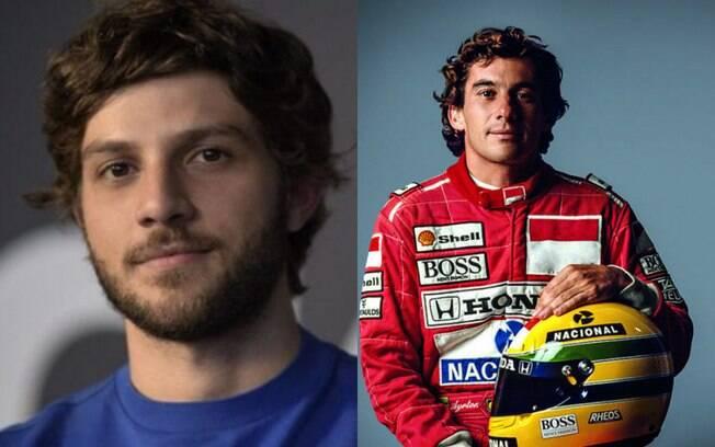 Chay Suede pode viver Ayrton Senna em série