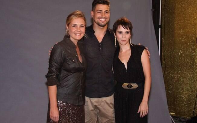 Adriana Esteves, Cauã Reymond e Débora Falabella