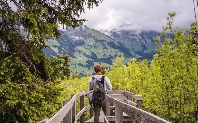 A Suíça tem um perfil de país neutro