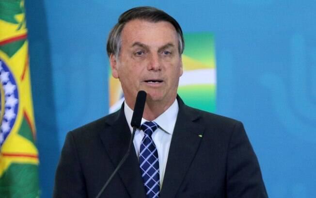 Presidente Jair Bolsonaro resolveu comentar impedimento de posse de Ramagem.