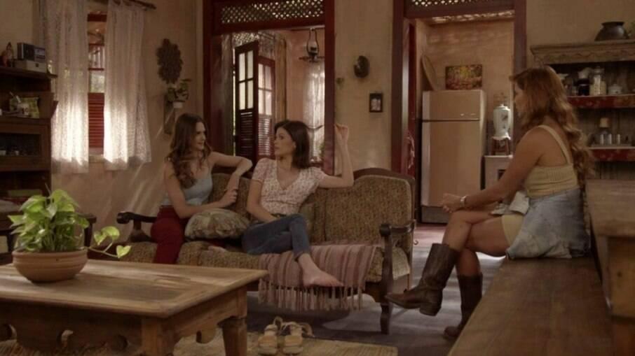 Luna, Kyra e Alexia, em Salve-se Quem Puder