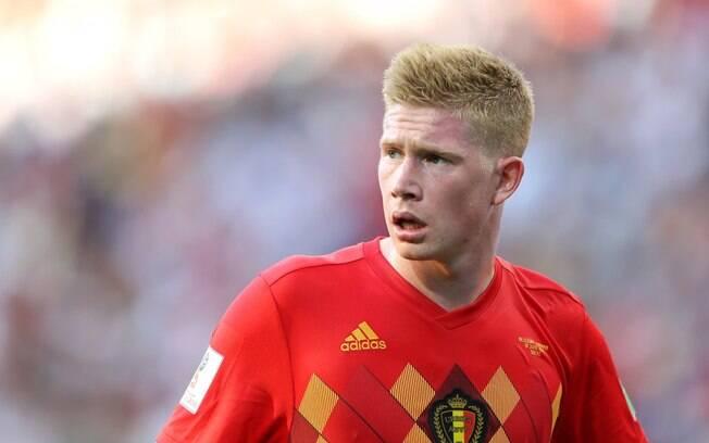Kevin De Bruyne deu lindo passe de trivela na vitória para a Bélgica sobre o Panamá