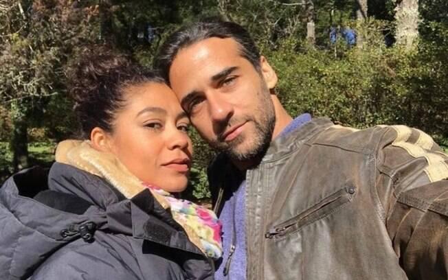 Karen Júlia e Rafael Sardão