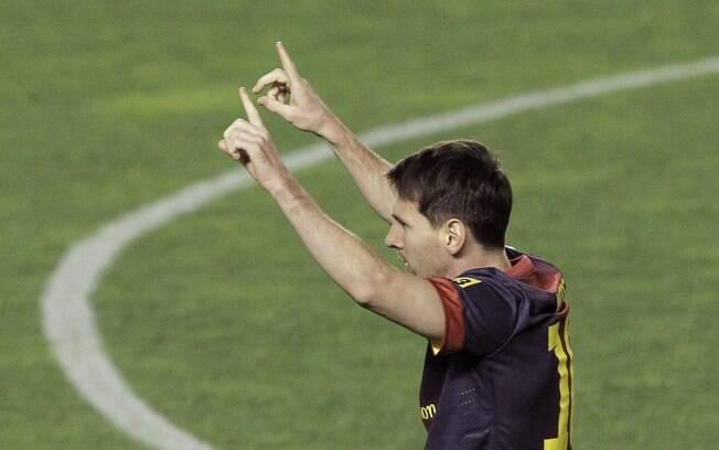 Na nona rodada, o Barcelona atropelou o Rayo  Vallecano por 5 a 0.  Com dois gols, Messi chegou  ao seu 301º da carreira