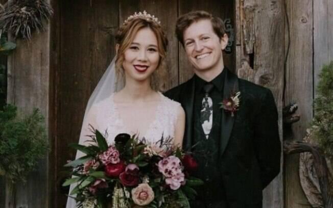 Ao ser pedida em casamento, Cindy prontamente propôs que a decoração da cerimônia fosse inspirada em 'Harry Potter'