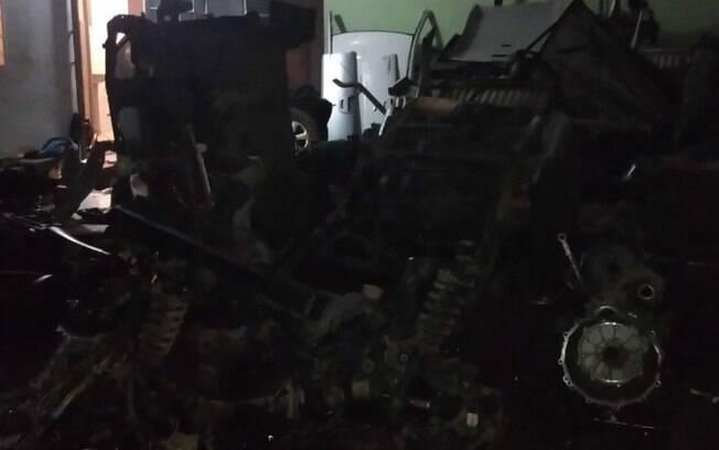 Polícia encontra desmanche de carros roubados e prende três em Campinas