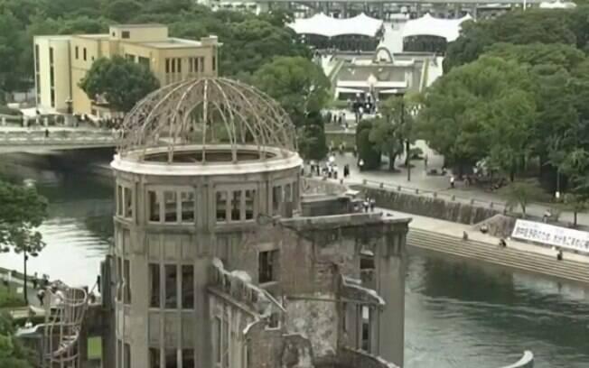 Bomba atômica que atingiu Hiroshima deixou cerca de 140 mil mortos.