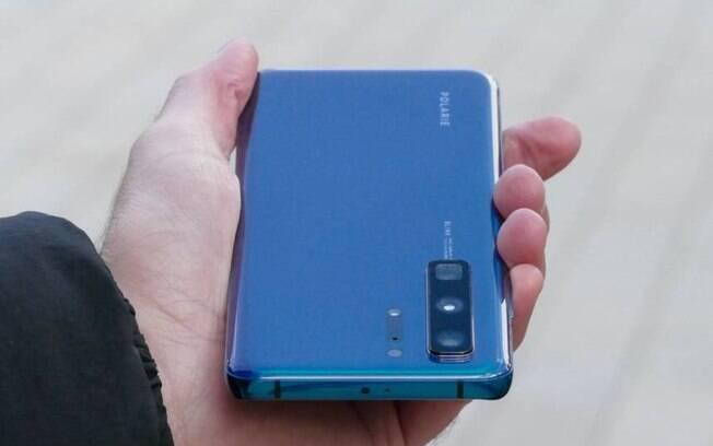 O Huawei P40 de mostrou um celular confortável de segurar