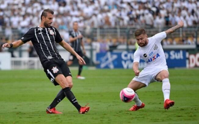 Santos e Corinthians ficaram no empate em clássico paulista no Pacaembu