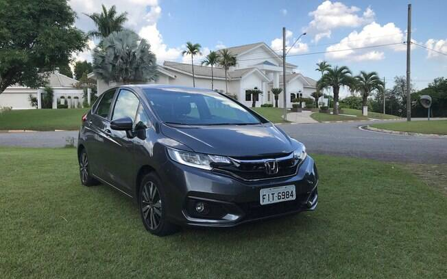 Honda Fit EXL 2018