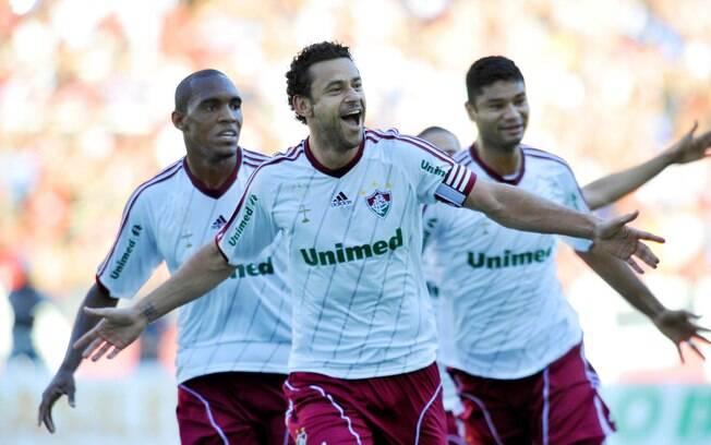 Fred foi decisivo na vitória suada do  Fluminense sobre o Fla