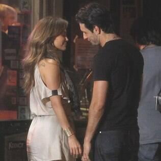 Jennifer Lopez e Rodrigo Santoro filmaram cenas em clima de romance para o filme