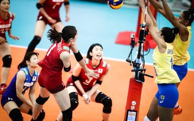 Seleção feminina de vôlei venceu o Japão, mas foi eliminada do Mundial