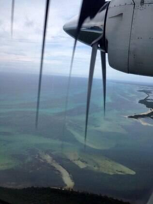 A ida para a ilha de Cozumel reserva paisagens de tirar o fôlego