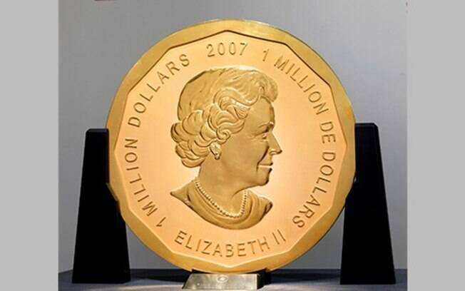 Vale mais de R$ 13 milhões: moeda de ouro puro de 100 kg é roubada de museu