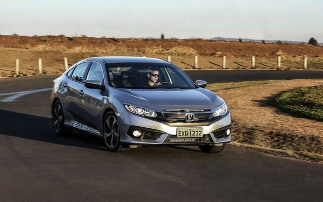 O motor 1.5 turbo só está disponível na versão mais cara do Honda Civic, por R$ 124.990.